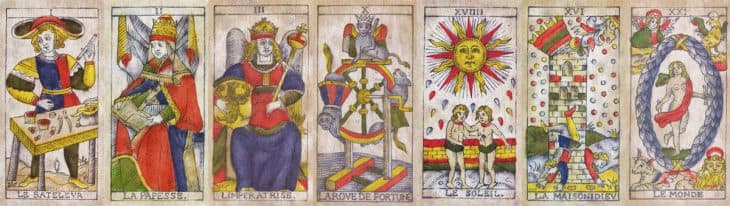 hebrew double letters planets and tarot trumps