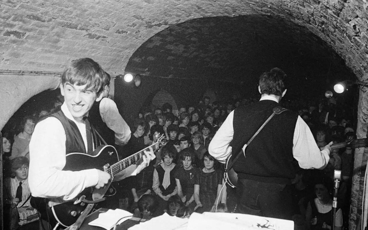 Los Beatles en TheCavern