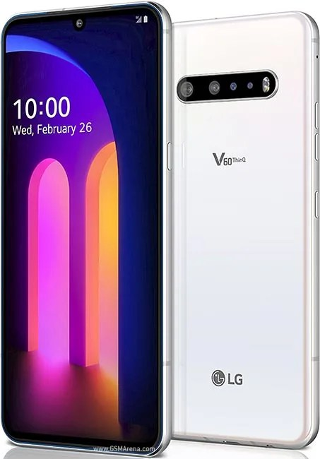 LG V60 THINQ design