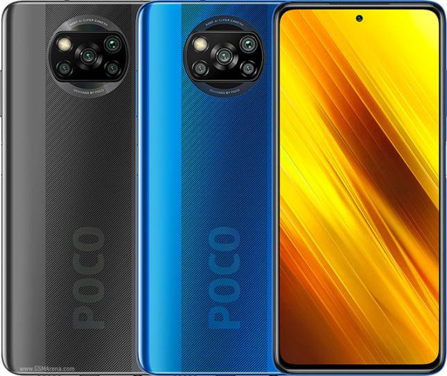 Poco X3 NFC colours