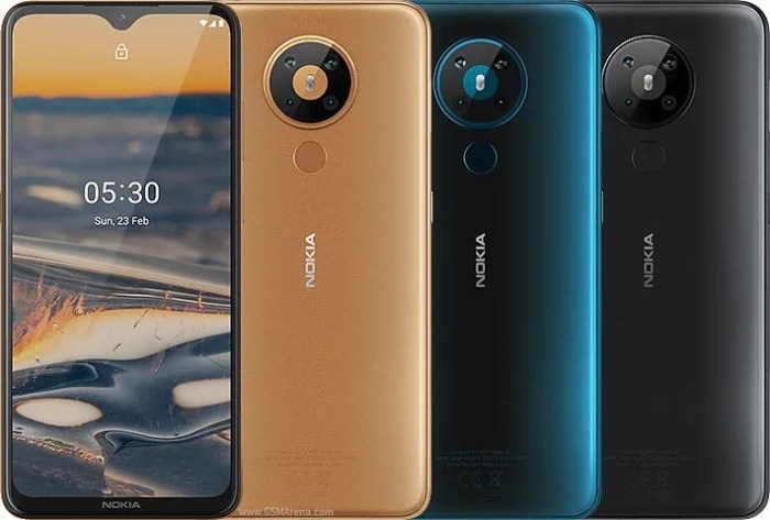 Nokia 5.3 colour options