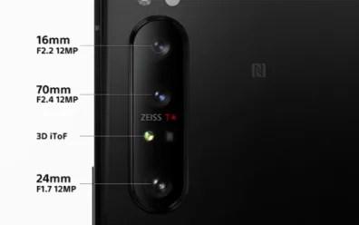 Sony Xperia 1 ii rear camera
