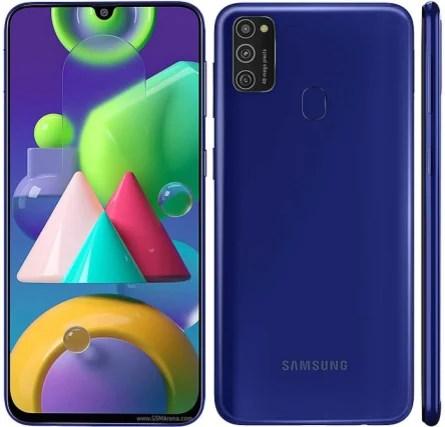 Samsung Galaxy M21 design