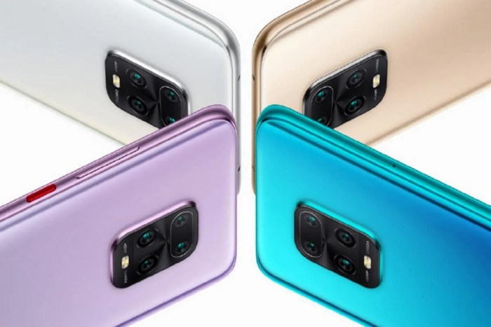 color variants of Redmi 10x family