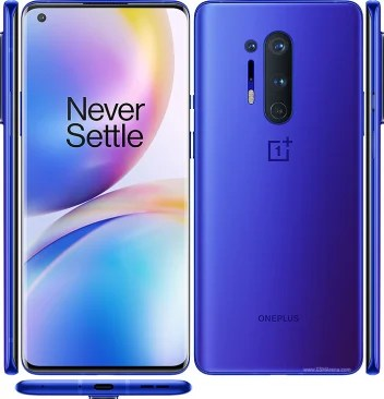 oneplus 8 pro design and view from all sides