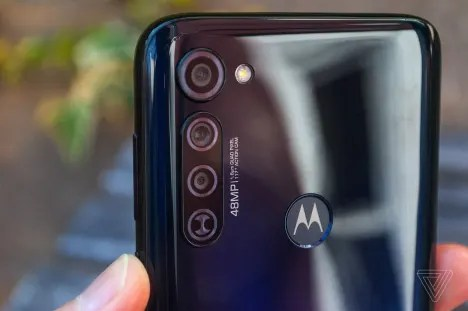 Moto G stylus Rear camera