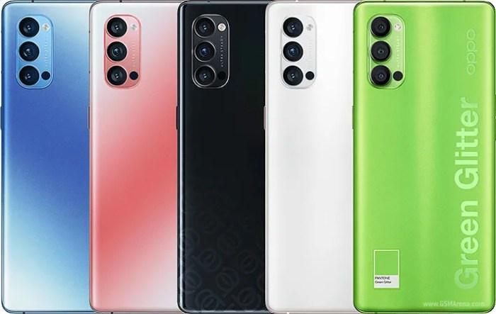 Oppo Reno 4 Pro 5G colours