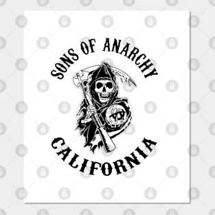 sons of anarchy poster und kunst