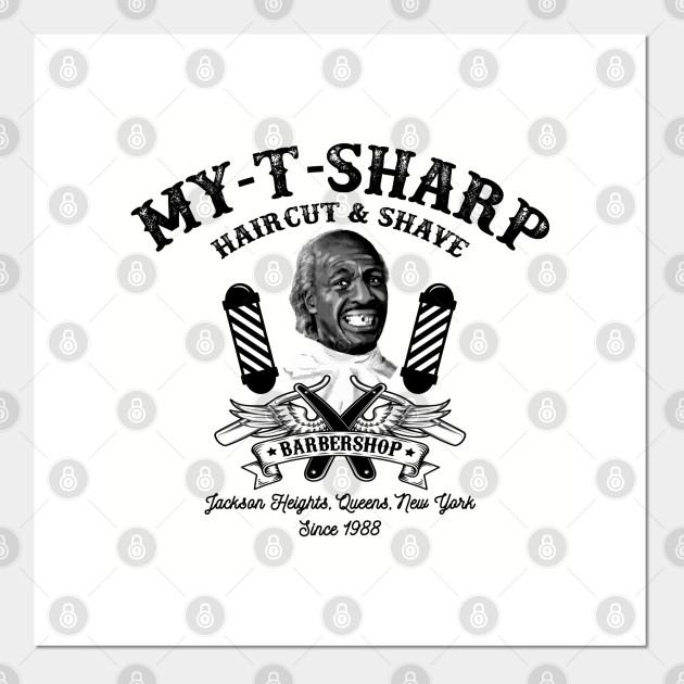 my t sharp barbershop