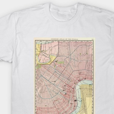 HD Decor Images » Vintage Map of New Orleans Louisiana  1897    New Orleans Map   T     2022926 1