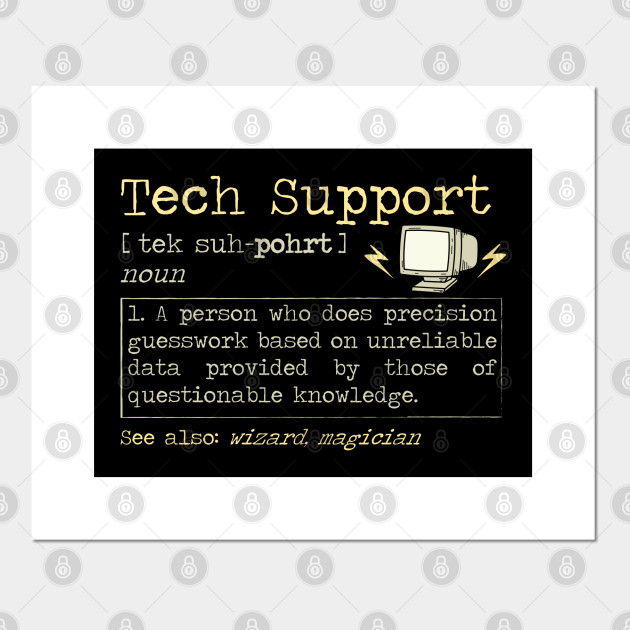 Funny Shirts For Tech Support It Helpdesk Computer Geeks