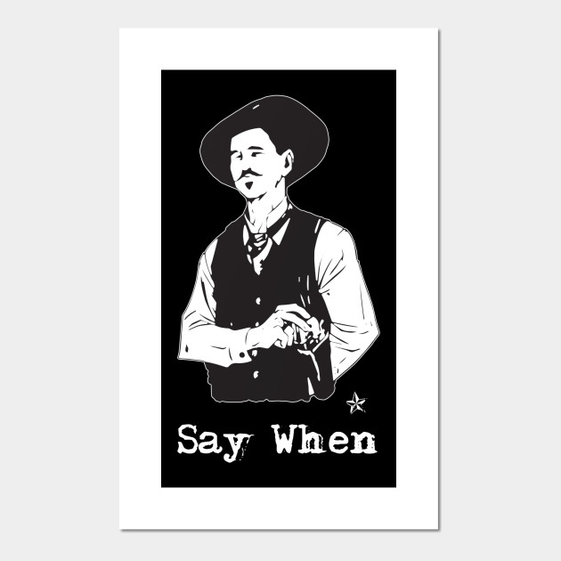 doc holliday say when western