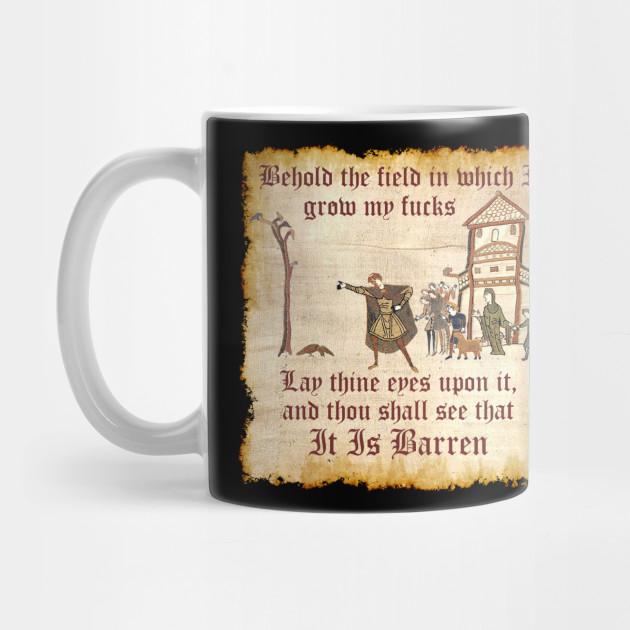 Behold The Field Medieval Dank Meme Behold The Field Mug