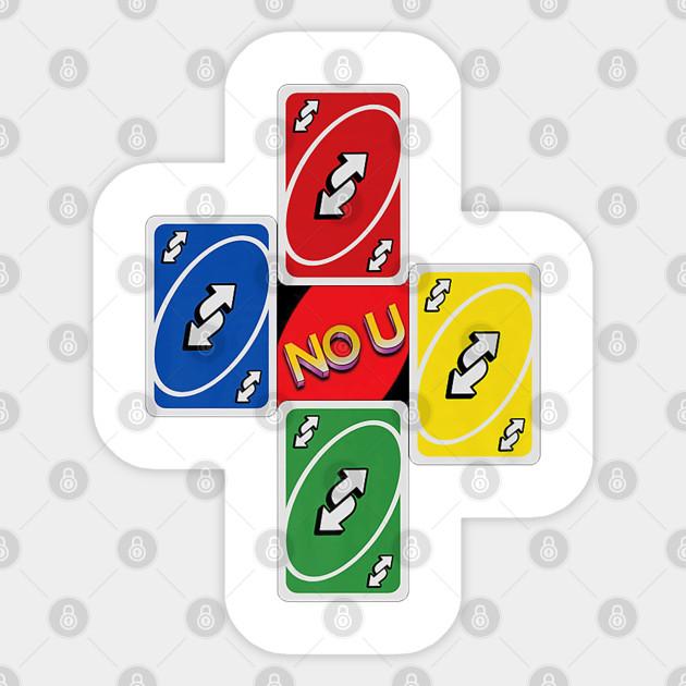 No U Meme Reverse Card Cross Premium Tshirt Uno Card Game