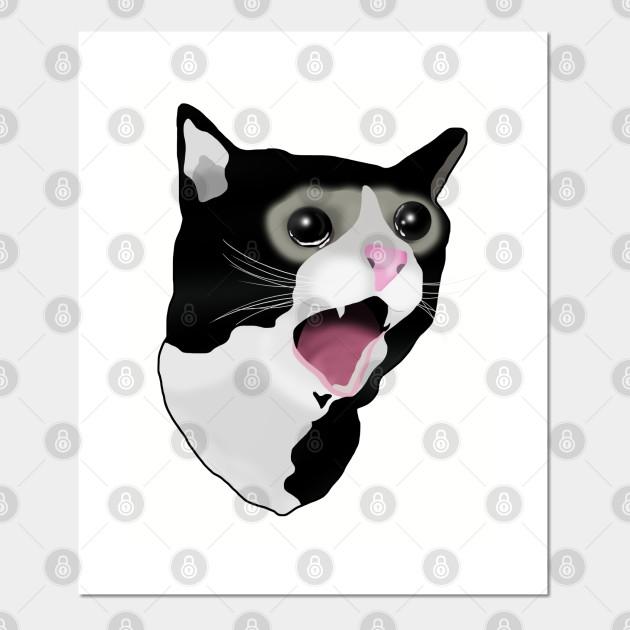 Crying Cat Meme Crying Cat Meme Tasse Teepublic De