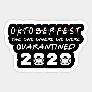 Oktoberfest 2020 Stickers Teepublic