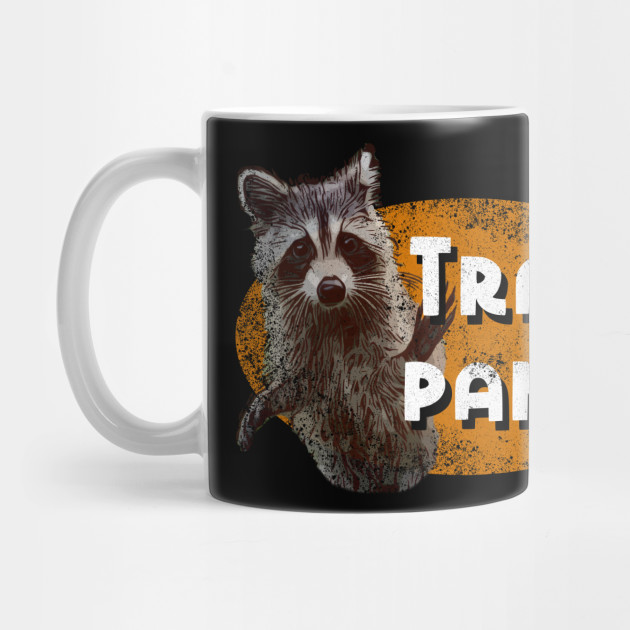 Funny Meme Trash Panda Racoon Wildlife T Shirt Racoon Mug