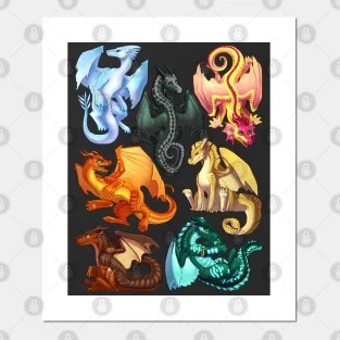 wings of fire posters and art prints