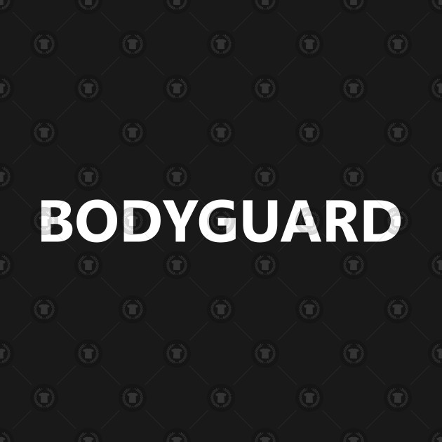 Bodyguard Job Uniform Costume Party Outfit Funny Halloween ...