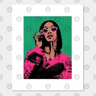 cardi b posters and art prints teepublic