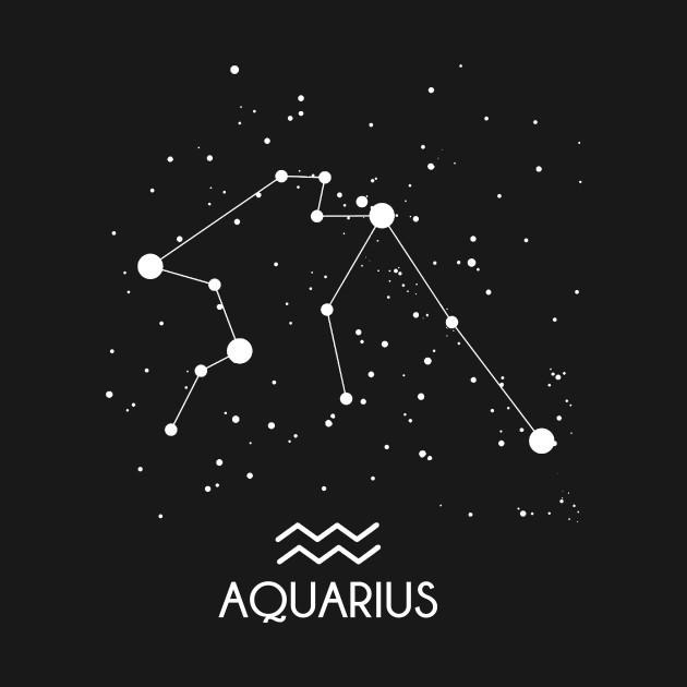 Aquarius Constellation Zodiac Symbol Aquarius Constellation Kids T Shirt TeePublic