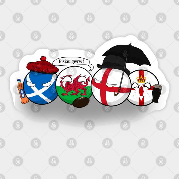 Countryballs Polandball Uk Colonization Comics Funny