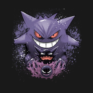 Gengar evolution T-Shirt