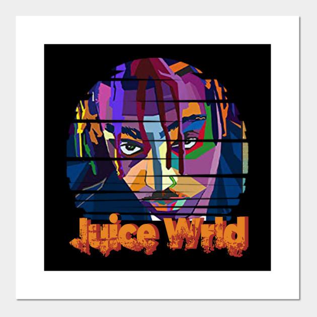 juice wrld poster print artwork ecog