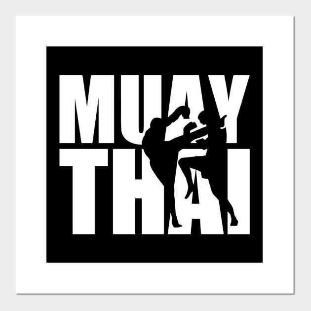muay thai muay thai poster und