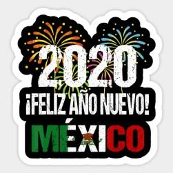 feliz año nuevo 2020 México