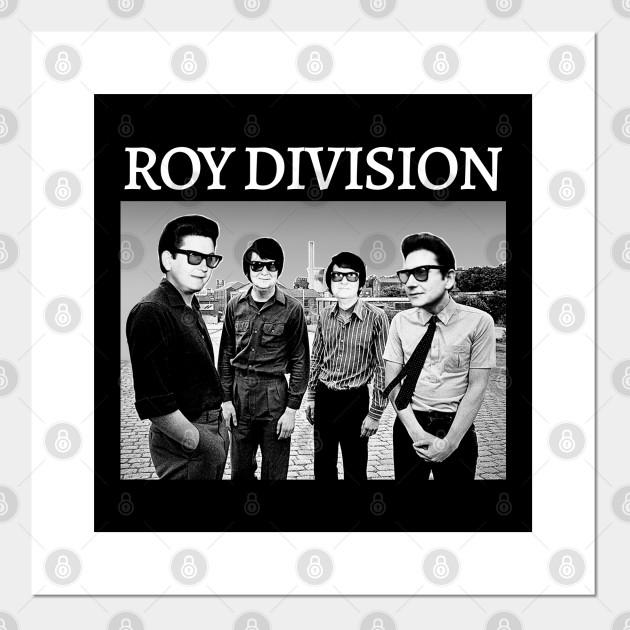 roy division parody orbison joy division meme design