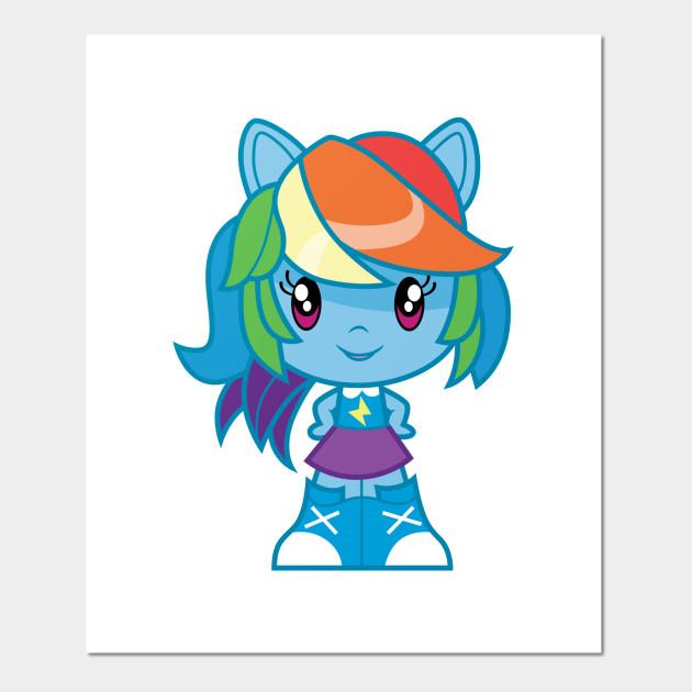Equestria Girls Rainbow Dash Equestria Girls Posters And Art Prints Teepublic