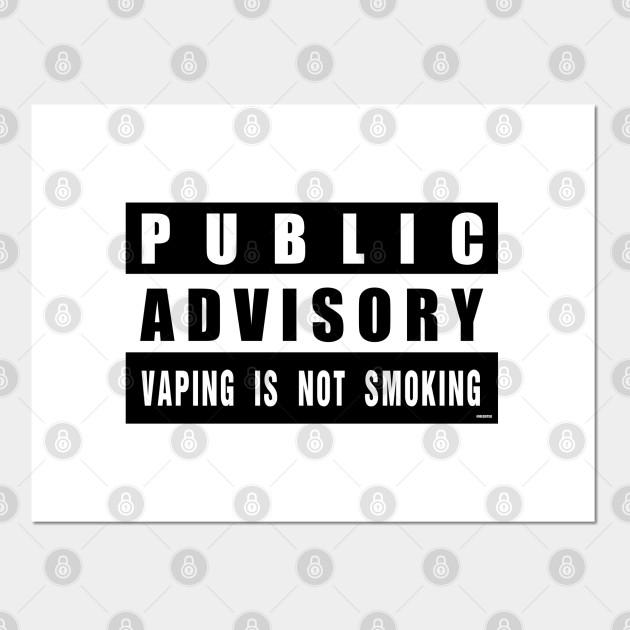 vaping is not smoking anti smoking