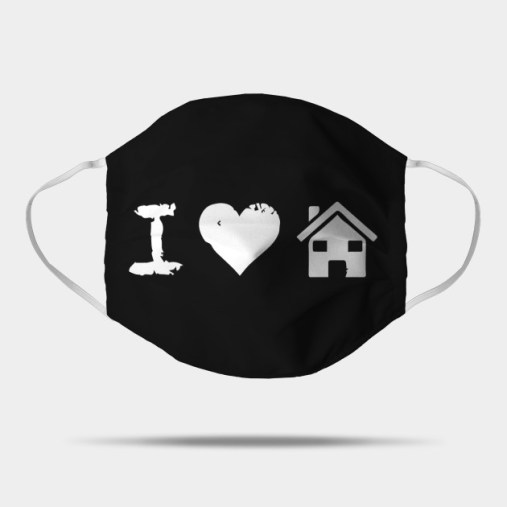 I Love House Music - Funny Humor Fun Music Movie - Mask | TeePublic