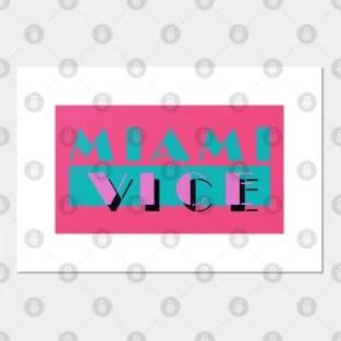 miami vice poster und kunst teepublic de
