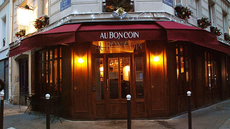 au bon coin in paris restaurant