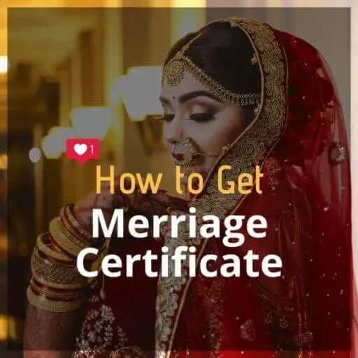 How to Get Marriage Certificate - Thinkingfunda - Marriage Certificate