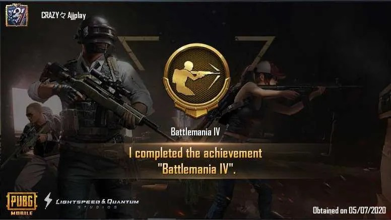 How to Complete Battlemania IV in PUBG Mobile