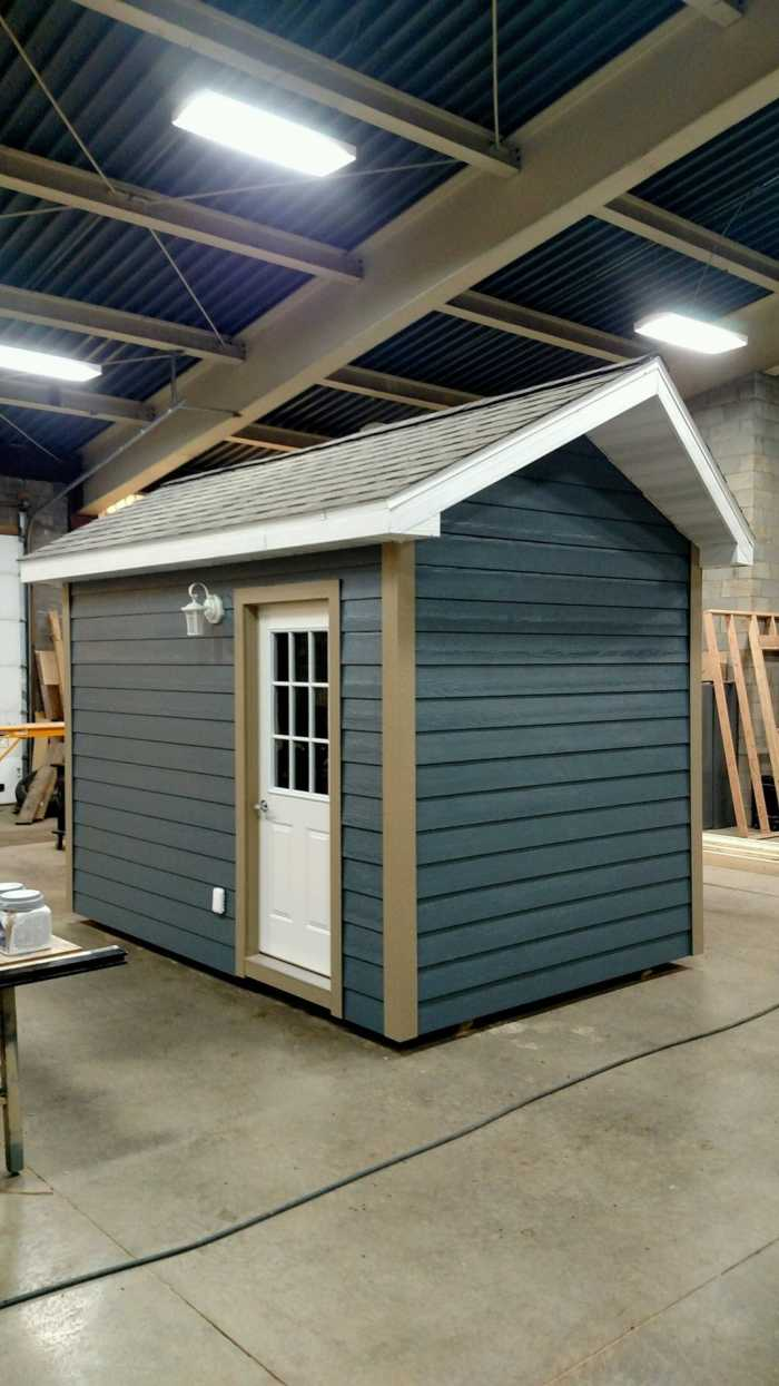 8x12 Building Motorcycle Garage Man Cave Hunting