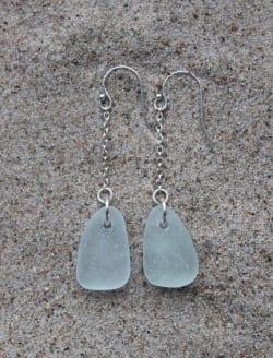 Havsglasörhängen - Pure