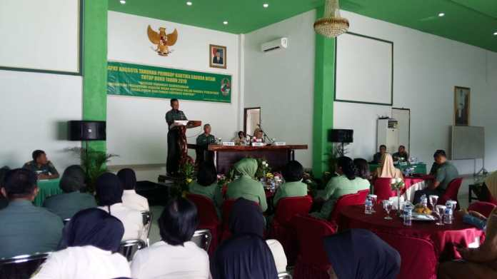 Korem 043 Gatam Gelar Rapat Anggota Tahunan Koperasi di Makorem