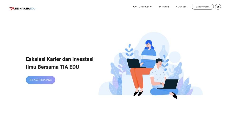 Techinasia Edu Aplikasi Kurusu Online Bersertifikat