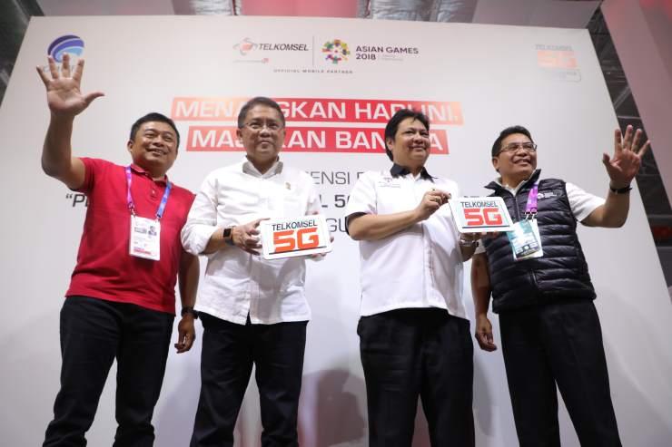 Dukung Realisasi Indonesia 4.0, Telkomsel Luncurkan Telkomsel 5G Experience Center
