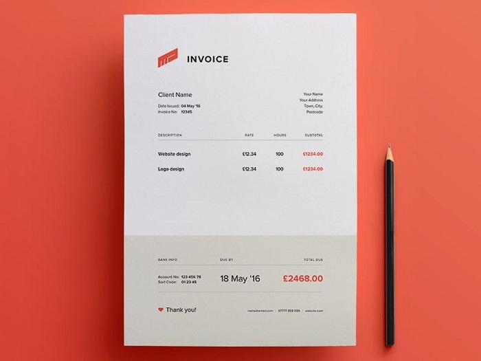 Template Invoice Gratis, Buat Bisnis Anda Lebih Dipercayai Pelanggan?