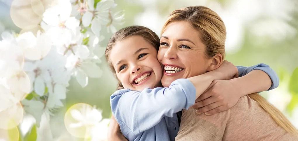 Mutter & Tochter am Muttertag