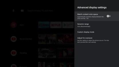 اختبار الصوت والفيديو على جهاز نفيديا شيلد تي في بوكس_6