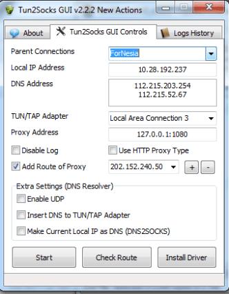 Tun2SocksGUI v2.2.2 Update (10)