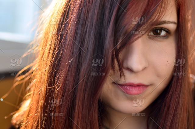 Image of: Cute Little Stock Photo Portrait Brown Red Cute Hair Girl Face Twenty20 Nominated Girl Cute Pretty Red Hair Sensual Eyes Smile