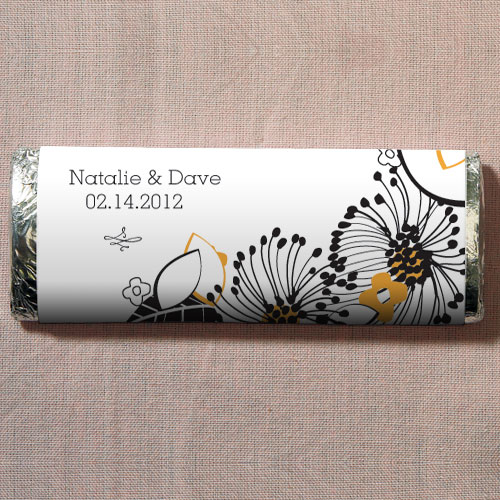 Floral Fusion Nut Free Gourmet Milk Chocolate Bar Harvest Gold