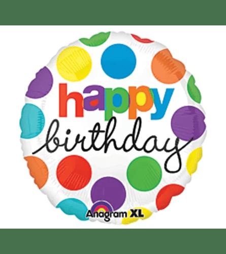 Happy Birthday Mylar Balloon Auburn Ca Florist